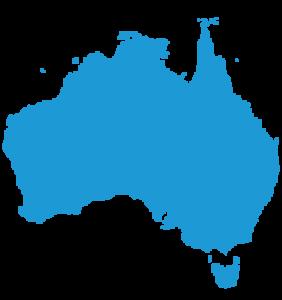 Australia outline